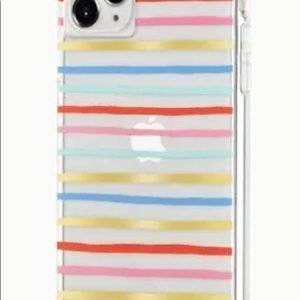 Rifle Paper CO. iPhone 11 Pro Max Case striped